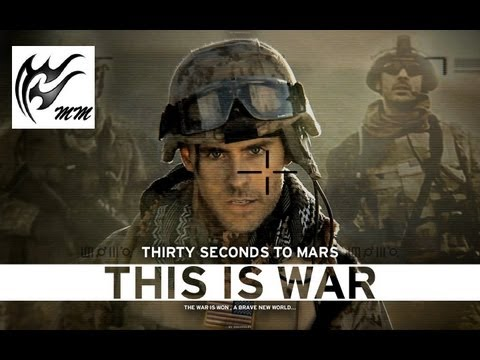 30 Seconds To Mars: This Is War (Lyrics On-Screen)