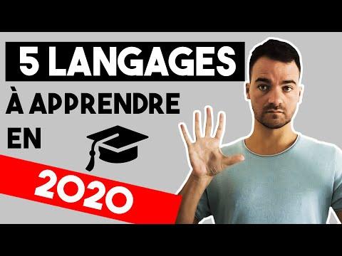 QUEL LANGAGE APPRENDRE EN 2020 ?