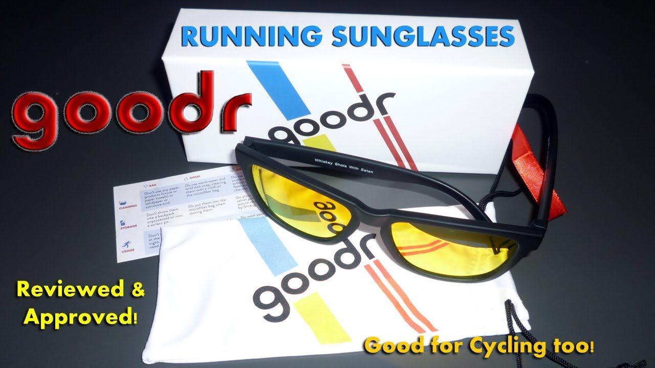 c1de4870ac0 Really goodr Running Sunglasses - My Unprofessional Review - YouTube
