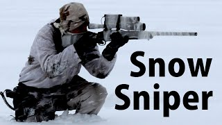 Airsoft Sniper Gameplay - Scope Cam - Snow Battlefield thumbnail