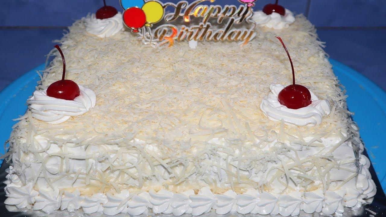 Cara Membuat Kue Bolu Ulang Tahun Sederhana Dan Enak