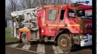 Accident de gendarmerie pompier et samu