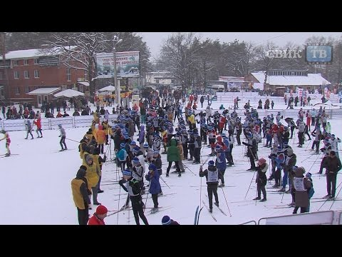 Воронеж не потерялся на лыжне России