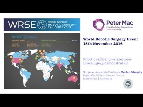 Live Robotic Prostatectomy WRSE Nov 16 DECLAN MURPHY