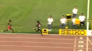世界陸上2015、ゴール直前でバンザイした瞬間に追い抜かれて銅メダル逃す…モリー・ハドル選手 thumbnail