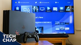 PS4 Pro SETUP & REVIEW (4K HDR)(The 4K HDR capable PS4 Pro is out now - but is it really worth buying? I setup, test and review the PS4 Pro on a 4K HDR TV to find out what's new and if it's ..., 2016-11-11T22:30:00.000Z)