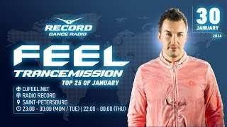DJ Feel - Top 25 of January 2014 / Radio Record