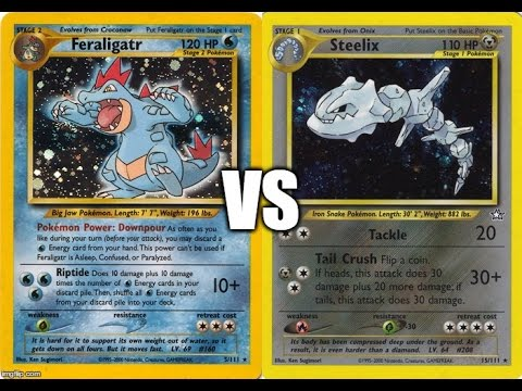 Heretic (Feraligatr) vs Jay Young (Steelix) - 2002 Rocket-Neo Format
