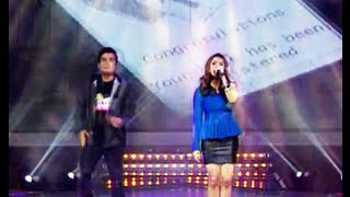 Dapat Tama - LIVE - by Gloc 9 ft. Denise Barbacena (Party Pilipinas)