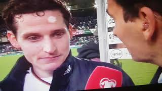 Sebastian Rudy Interview Nord Irland vs Deutschland