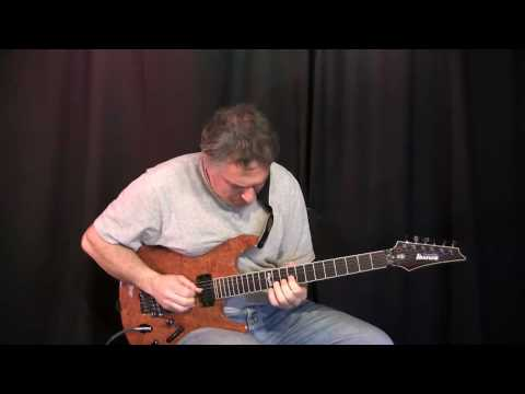 Jazz rock funk fusion G minor blues jam, Jake Reichbart - Lead Guitar Solo
