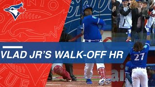 Vladimir Guerrero Jr. Belts Electrifying Walk-Off Home Run in Montreal
