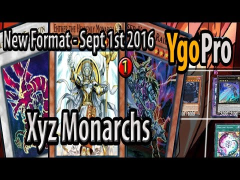 Xyz Monarchs (SEPT 2016) - Nope, Monarchs aren't dead.. The rank 5 toolbox is still strong! =3