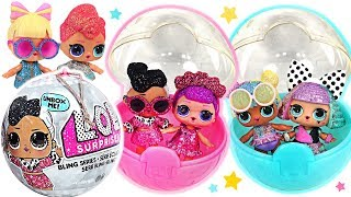 LOL Surprise Bling Series! Let's go to the party in pretty clothes~!  #PinkyPopTOY