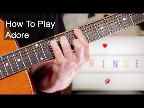 'Adore' Prince Guitar Lesson