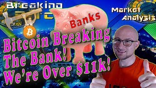 Bitcoin Breaks The Bank As We Ascend Past $11k!  Options Contracts and Cryptocurrency IRAs For Sale!