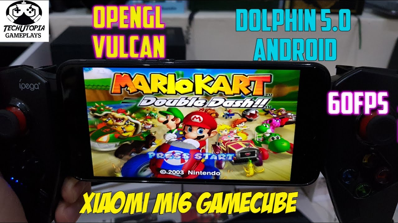 How To Play Mario Kart Double Dash On Android Dolphin 60fps No Glitch No Bug Vulcan Xiaomi Mi6