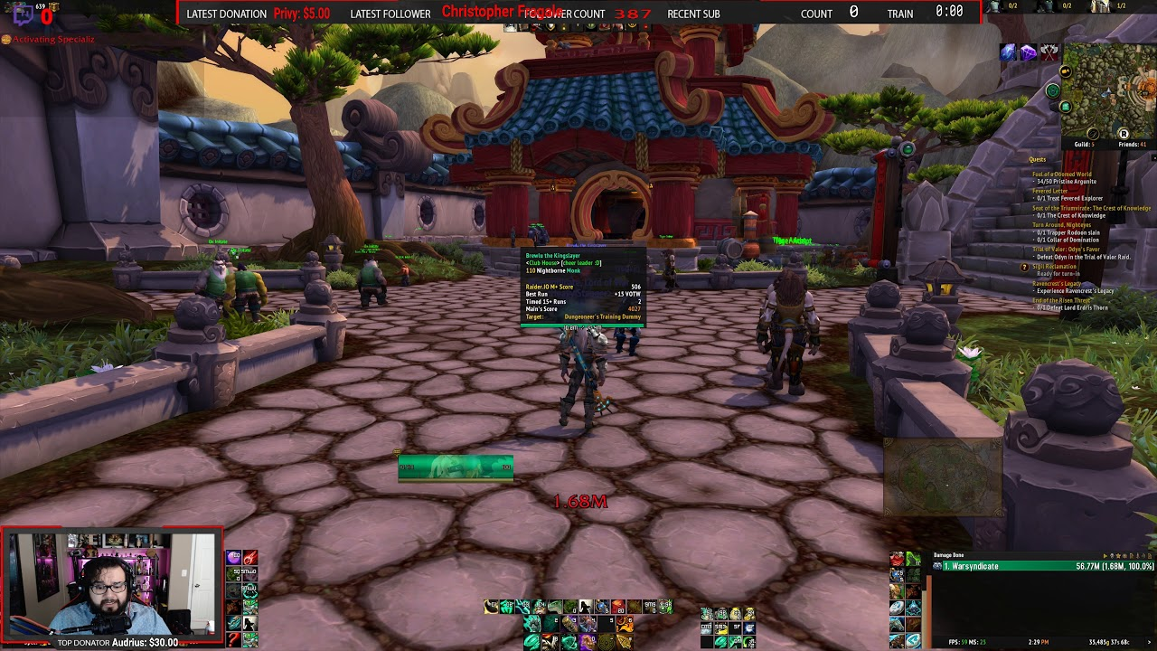 Quick UI / Addon Overview! Real Time DPS Meter guide