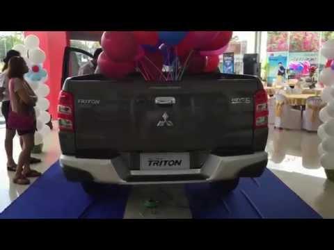 พรีวิวรอบคัน All New Mitsubishi Triton 2015 รุ่น Double Cab Plus GLS Navi ราคา 925,000 บาท