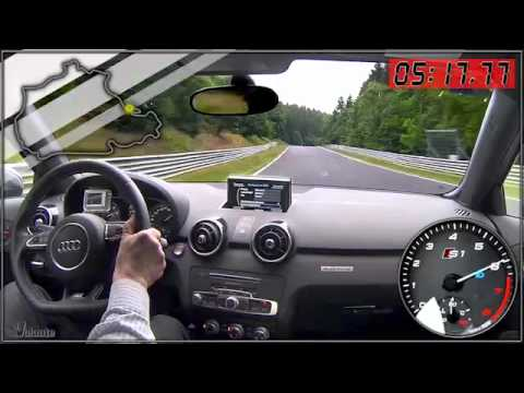 Audi S1 test drive al Nürburgring