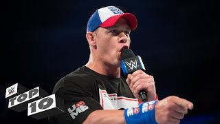 John Cena's best verbal smackdowns - WWE Top 10