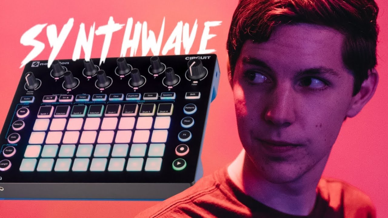 MATRIXSYNTH: 4 Synthwave Songs made on the Novation Circuit