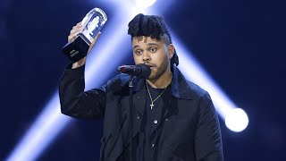 The Weeknd Wins Single Of The Year at The 2016 JUNO Awards