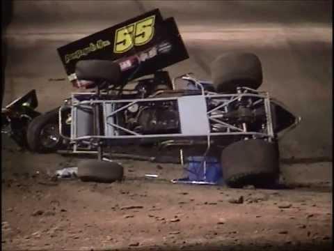 Rolling Wheels Raceway Sprint Car Flips