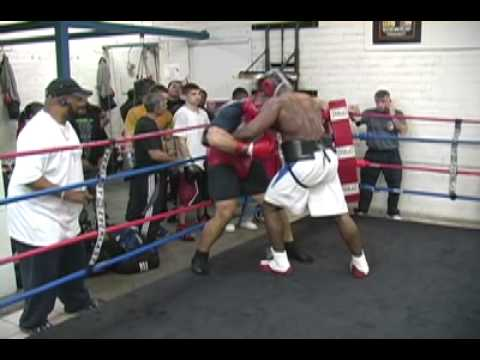 Boxing Highlights From Johnny Tocco's Gym In Las Vegas, Nevada