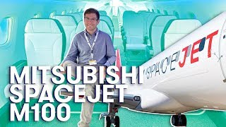 Mitsubishi SpaceJet M100 Tour | The Points Guy