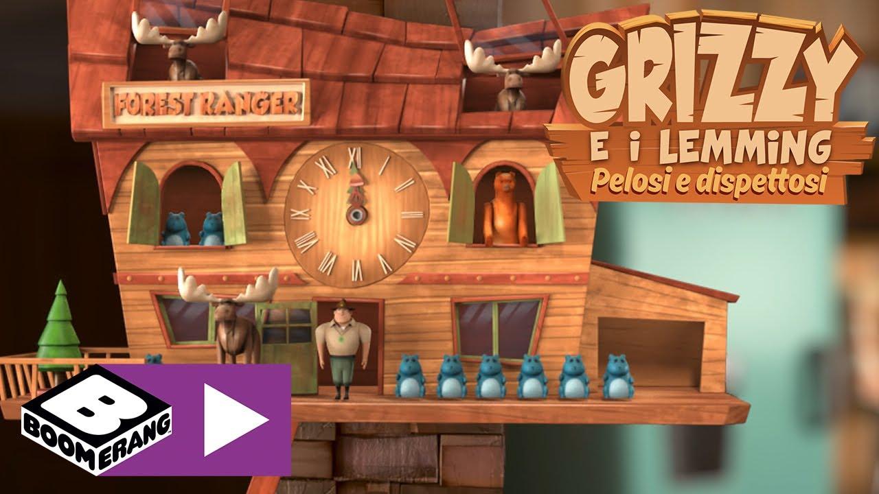 Download L'orologio | Grizzy e i Lemming | Boomerang Italia