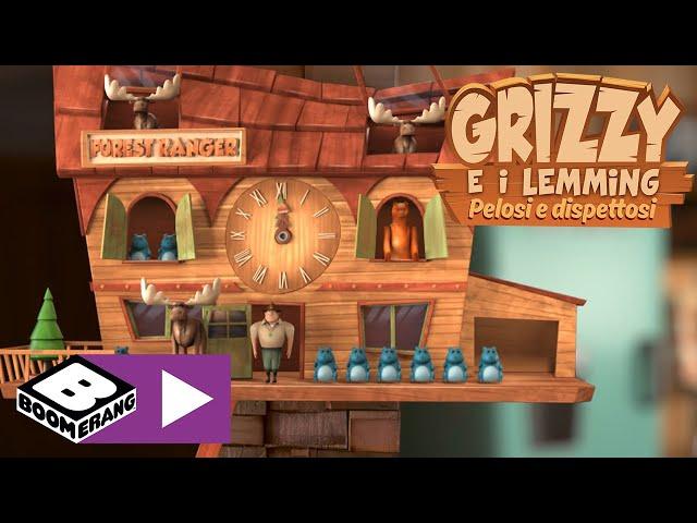 L'orologio | Grizzy e i Lemming | Boomerang Italia