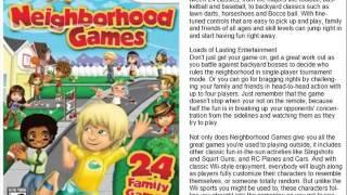 Neighborhood Games WII
