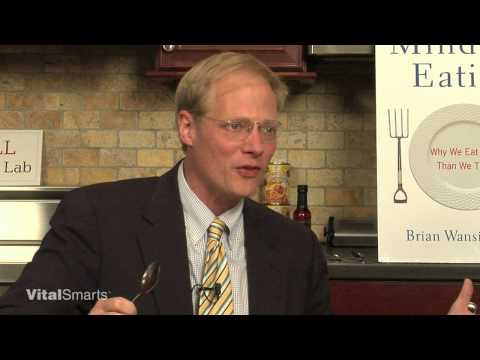 Brian Wansink on Mindless Eating