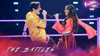 Download The Battles: Aydan Calafiore v Madi Krstevski 'Uptown Funk' | The Voice Australia 2018
