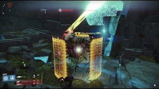 "Destiny - ""No Land Beyond"" Exotic Sniper Gameplay - Undying Mind Strike (Dark Below Early Gameplay)"