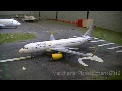 My Brand New Gemini Jets Model Vueling Airlines Airbus A320-232W EC-MEL In 1.400 Scale