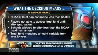 Sports attorney Eugene Lee discusses the O'Bannon ruling and its impact on college athletics.