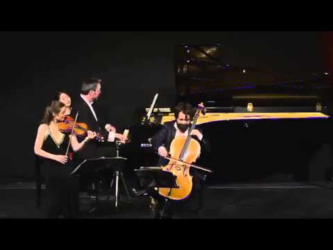 ATOS Trio: C.Chaminade, Piano Trio in a-minor, op.34 - III Allegro energico