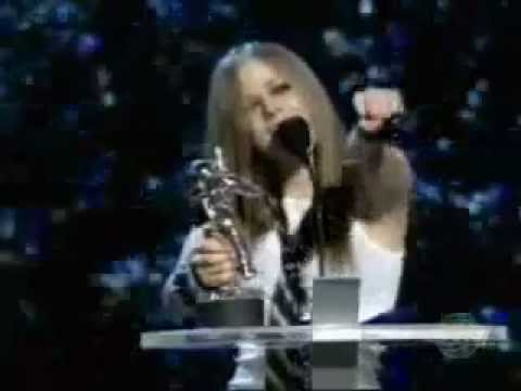 Avril Lavigne -  MTV Music Video Awards 2002