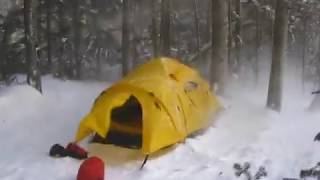 Solo Mt Washington Wiฑter Camping & Climbing.Frigid temps.
