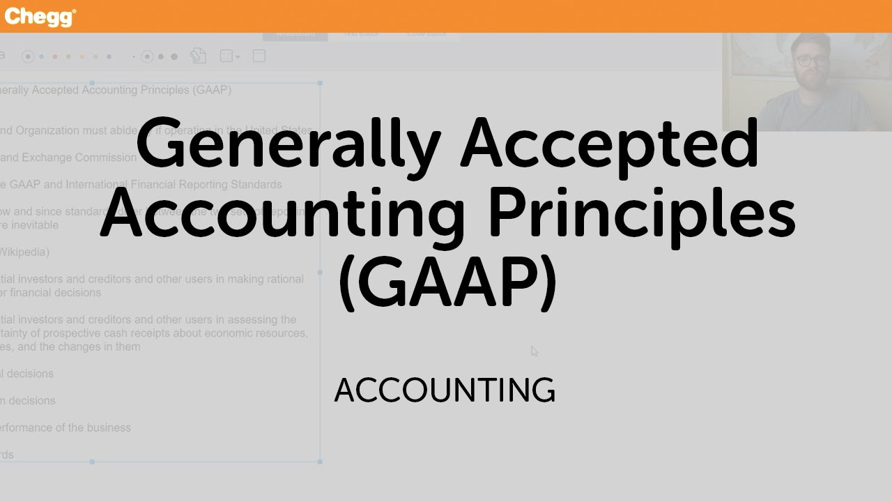 generally accepted accounting principles paper Nber working paper series a unifying model of how the tax system and generally accepted accounting principles affect corporate behavior douglas a shackelford.