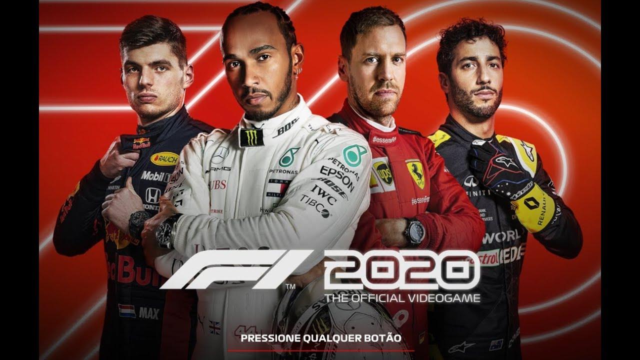 F1 2020 - PRIMEIRO CONTATO - GAMEPLAY - MERCEDES BENZ - AUSTRIA
