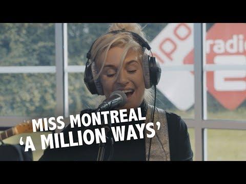 Miss Montreal - 'A Million Ways' live @ Ekdom in de Ochtend