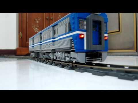LEGO train Power Function-9V hybrid EMU-600 from TRA(taiwan railway administration)