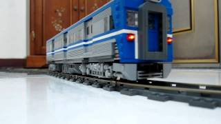 LEGO train Power Function-9V hybrid EMU-600 from TRA(taiwan railway administration)