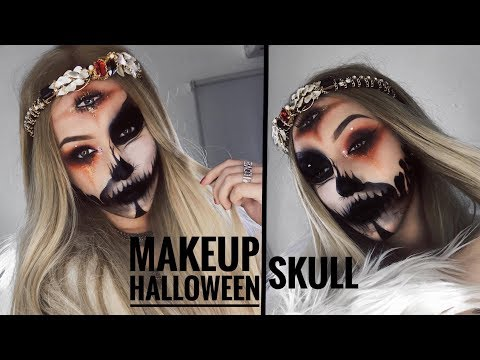 MAQUILLAJE/ SKULL- GYPSY FORTUNE TELLER | Melina Quiroga Makeup