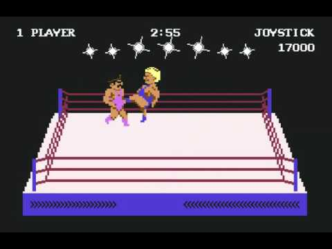 Game of the day 1272 Rock'n Wrestle (ロクン・レッサル) Melbourne House 1985 one coin beat  