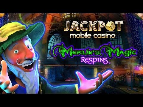 Merlin's Magic Respins slots now on Jackpot Mobile Casino