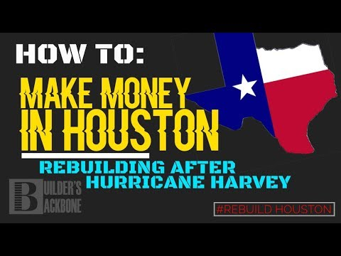 How to get in on the contractor work after Hurricane Harvey